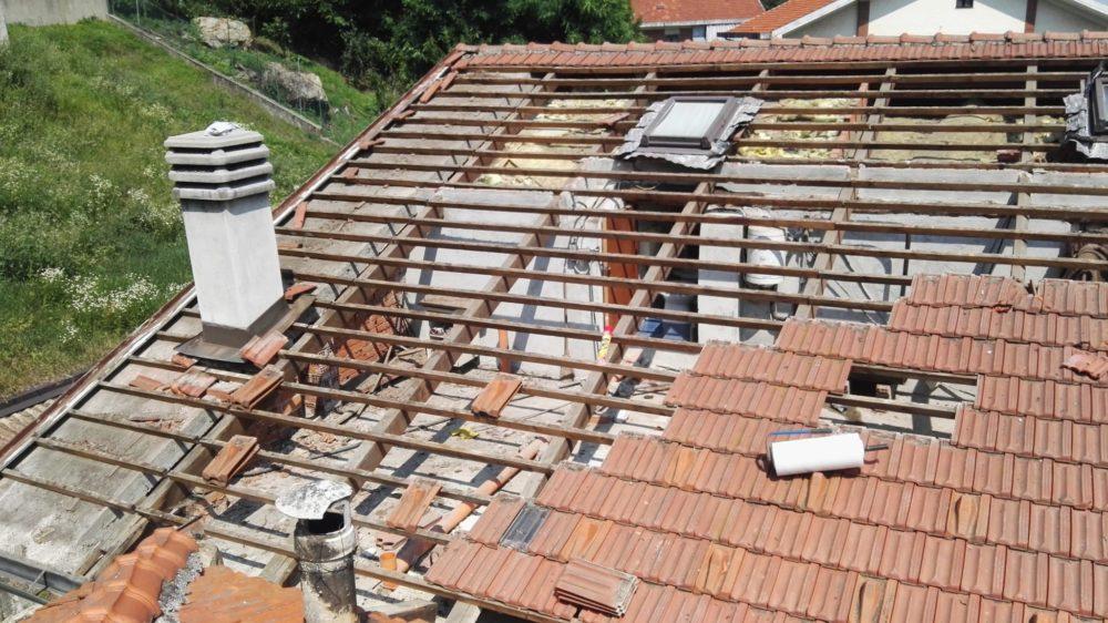 Rifacimento tetto Trana